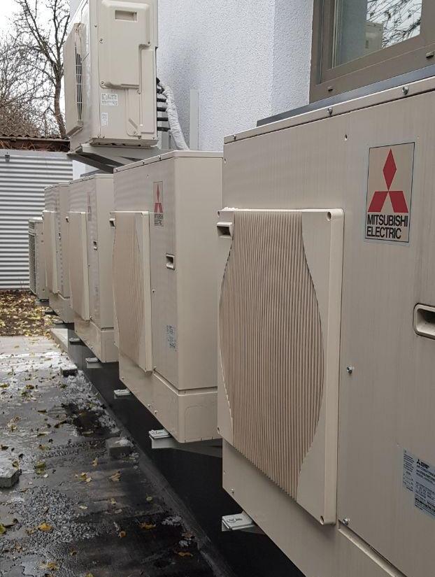 Дом на тепловых насосах Mitsubishi Electric